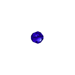 Swarovski (5000) 4mm Round - Majestic Blue (10 Pack)