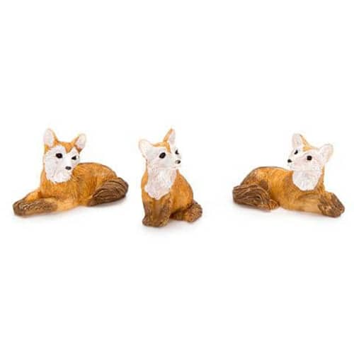 Mini Foxes 3 pieces