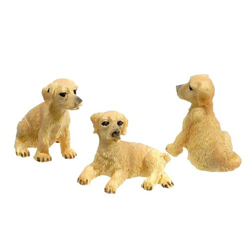 Mini Hound Dogs Set of 3