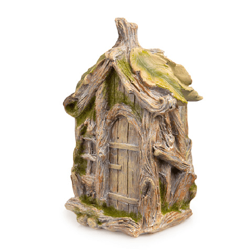 Garden House - Wood and Leaf Style - 5 x 7.5 inches
