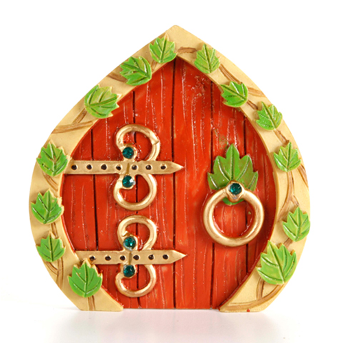 Fairy Door - Resin - 3.75 x 3.875 inches