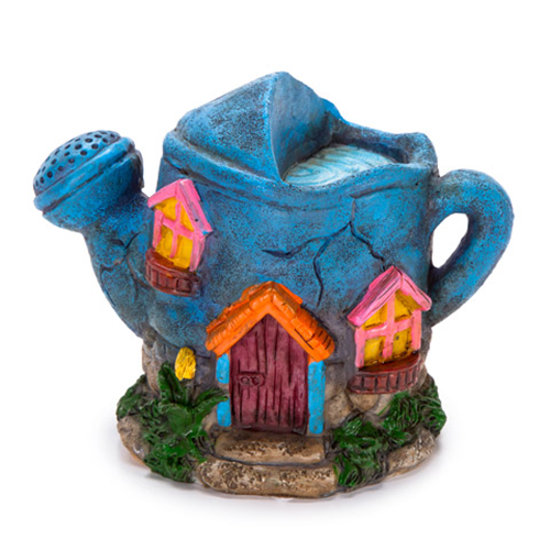 Fairy Garden House - Watering Can Design - 3.62 x 4.72 inches