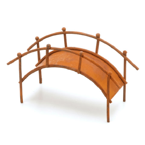 Mini Bridge with Handrail - Rustic