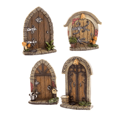 Fairy Garden Accessories: Resin Fairy Door