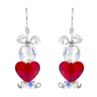 Too Cute Double AB Love Bear Earring Kit