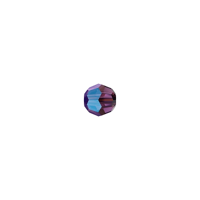 Swarovski (5000) 4mm Round Bead - Amethyst Shimmer (Pack of 10)