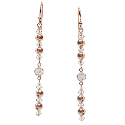 Rose Gold Drop Earring Kit