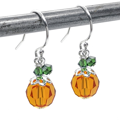 Pumpkin Earring Kit