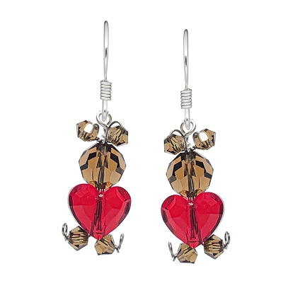 Too Cute Love Bear Earring Kit