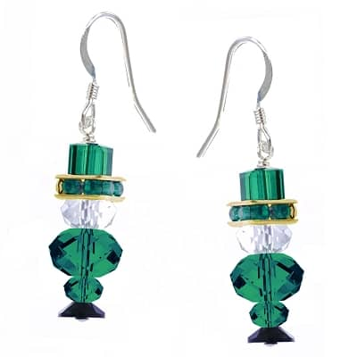 Lucky the Leprechaun Earring Kit